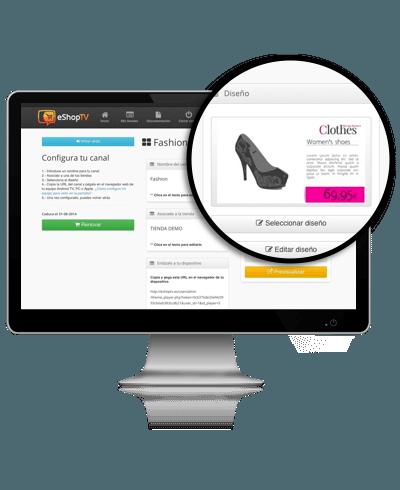 Tria els productes que vols promocionar de la teva botiga en línia